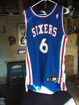 SIZE LARGE ..JULIUS ERVING NBA JERSEY...GREAT BUY!!! for Sale in Indianapolis, IN