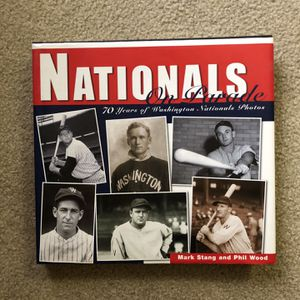 Nationals Historical Book for Sale in Reston, VA