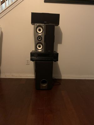 Onkyo surround sound system for Sale in Pflugerville, TX
