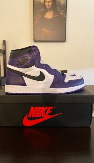 Air Jordan 1 High OG Court Purple Size 14 for Sale in Lawrence, MA