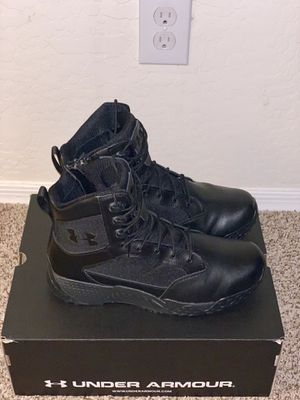 New Black Under Armour Boots for Sale in Phoenix, AZ