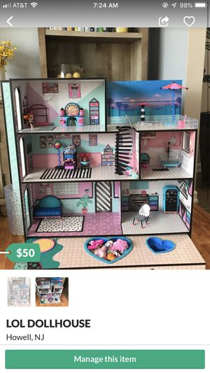 lOL DOLLHOUSE for Sale in Howell, NJ