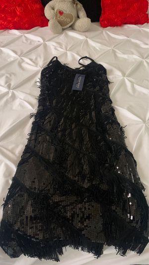 Anna Kaci Black Sequin Fringe Dress for Sale in Hialeah, FL