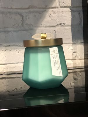 SMELLS INCREDIBLE Eucalyptus Lavender Candle Brand New for Sale in Vienna, VA