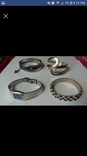 BRACELETS WATCH - $5 Each or $15 for ALL for Sale in South Attleboro, MA