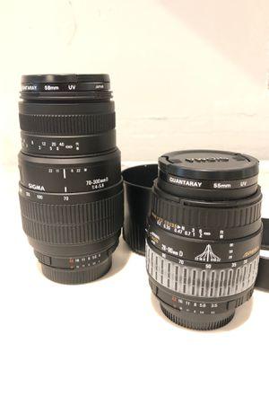 Lenses for Nikon camera for Sale in Jupiter, FL