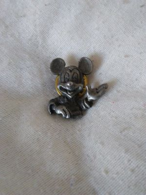 Disney Pewter Mickey Mouse Pin for Sale in Walton Hills, OH