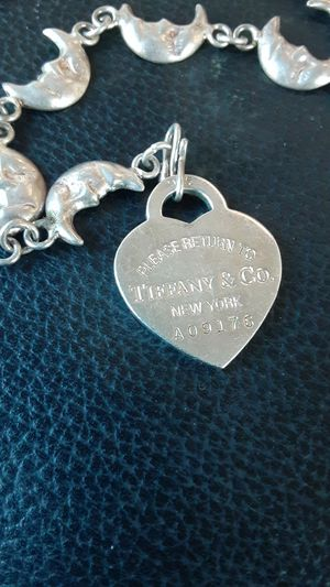 Sterling Tiffany's pendant. Brac ed let did not come with originally for Sale in San Francisco, CA