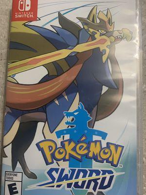 Pokémon sword for Sale in San Diego, CA