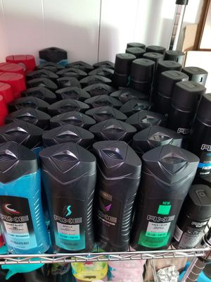 Axe / Old Spice Body Wash/Spray Deodorant for Sale in Queens, NY