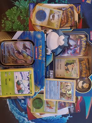 Snorlax Pin Collection bundle POKEMON CARDS for Sale in Lynnwood, WA