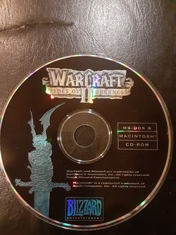 WARCRAFT 2 TIDES OF DARKNESS MAC game for Sale in Washington,  DC