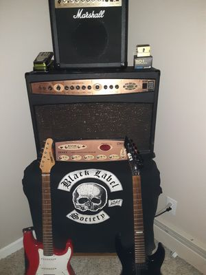 Guitar, amp and accessories for Sale in Littleton, CO