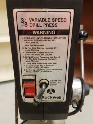 Rockwell model 10 drill press for Sale in Kirkland, WA
