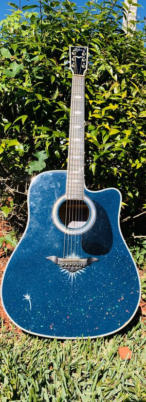 Esteban Starlight Limited Edition Electro-Acoustic Guitar for Sale in Hialeah, FL