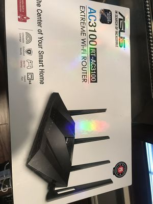 Asus AC3100 Extreme Wireless Router for Sale in Missouri City, TX