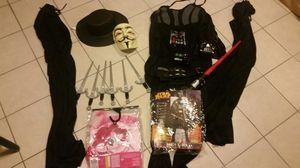 3 sets Halloween costumes for adults and children for Sale in Nutley, NJ