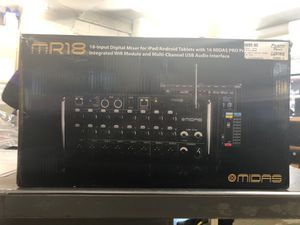 MR18 Input Digital Mixer for Sale in Raleigh, NC