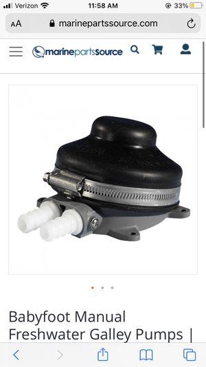 Babyfoot manual water pump for Sale in Bellingham, WA