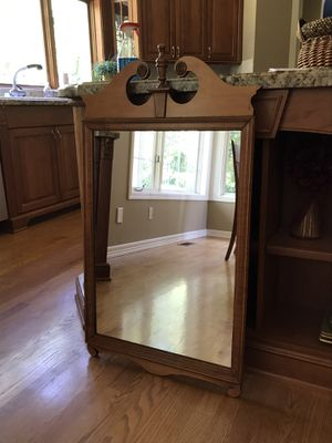 Vintage Wood Mirror for Sale in Sammamish, WA