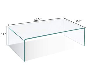 Acrylic coffee table for Sale in Randolph, MA