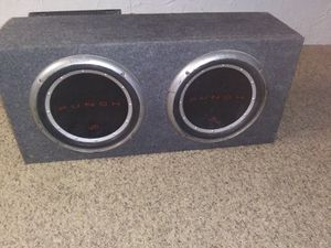 12 inch subwoofers with amp for Sale in O'Fallon, MO