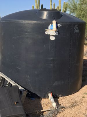 Water Storage Tank 1650 Gallon for Sale in Apache Junction, AZ