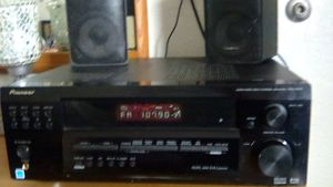 Pioneer audio and video multi-channel receiver excellent condition for Sale in Bakersfield, CA
