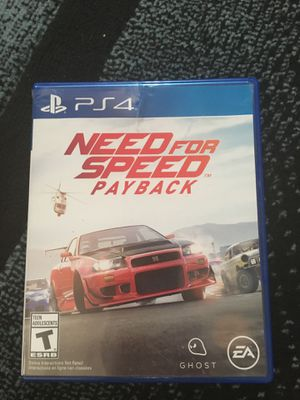 Need for speed pay back in good condition for Sale in Lincoln, NE