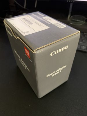 Canon EF - RF Adapter New for Sale in Clovis, CA