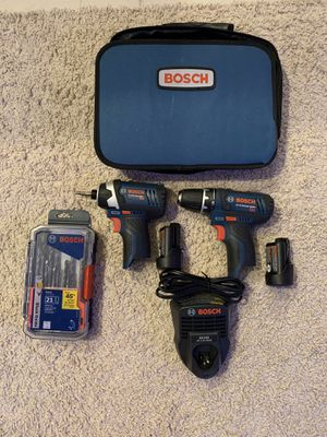 BOSCH 12V Lithium Impact Driver and Drill. for Sale in Odessa, FL