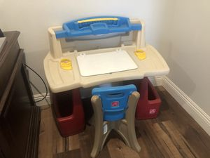 Step 2 Kids Desk and Chair for Sale in Norco, CA