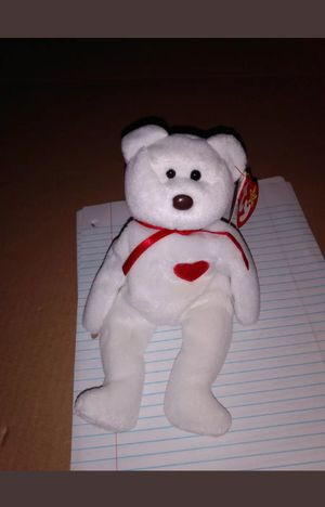 TY Beanie Baby RARE VALENTINO w/brown nose black eyes for Sale in San Antonio, TX