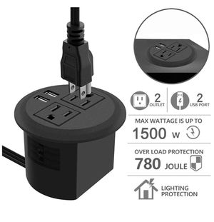 Desktop Power Grommet with USB for Sale in Rancho Cucamonga, CA