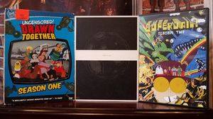 Drawn Together SuperJail Space Ghost Coast to Season Vol 1 2 3 Animated DVD Lot Anime for Sale in Tampa, FL
