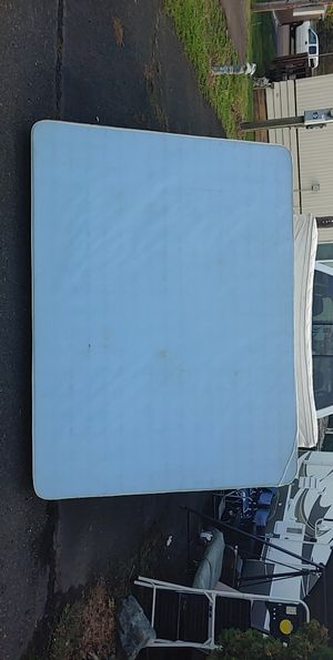 Free king mattress and box spring for Sale in Newberg, OR