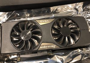 EVGA GeForce 6GB GTX 980ti ACX 2.0+ Overclocked for Sale in Rapid City, SD