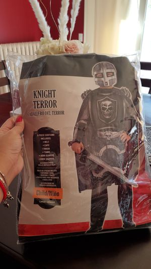 Knight Terror Costume size Youth L (12-14) for Sale in Woburn, MA