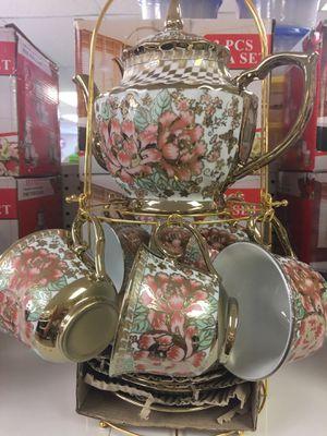 13 pics jumbo coffee and tea set for Sale in Apollo Beach, FL