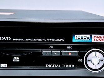 Panasonic DMR-EZ48V HDMI Digital VHS DVD Recorder VCR for Sale in Kirkland,  WA