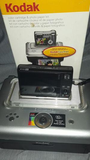 Kodak portable printer and camera. Also comes with printing paper. for Sale in La Crosse, WI