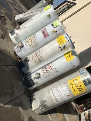 Boilers usados , buenos y baratos ‼️ estamos en 2501 w. 54th St. LA pregunte por Isabel para un 10% de descuento 😃 for Sale in Los Angeles, CA
