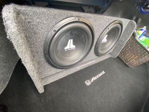 2 12 JL Audio Subwoofers only used for 3 months for Sale in Portland, OR