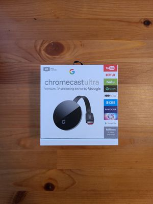 Chromecast Ultra for Sale in Glendale, AZ