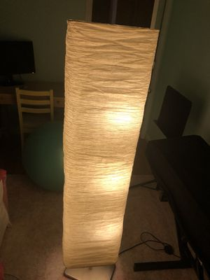 Paper floor lamp for Sale in New York, NY