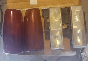 Chevy Silverado headlights and tail lights for Sale in Phoenix, AZ