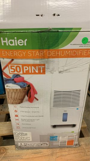 Haier dehumidifier for Sale in Dallas, TX
