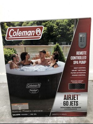 Coleman Remote Controlled Spa Pool 4 Person for Sale in Frostproof, FL