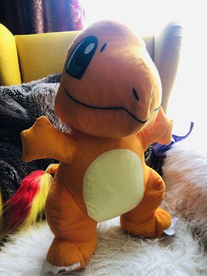 """POKEMON COLLECTION """" CHARMANDER ' PLUSH TOY 🧸 / STUFFED ANIMALS 🧸 🐵🦄🦁🐮🐷🐽🐼 for Sale in Los Angeles, CA"""