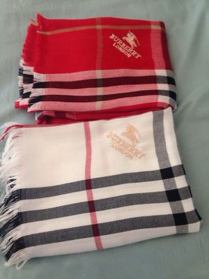 2 Burberry scarfs for Sale in Orlando, FL